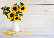 A Bouquet Of Autumn Sunflowers...