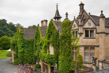 Castle Combe, Luxury House And Gardens Turned To Be A Hotel And