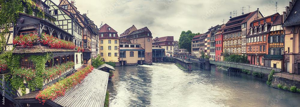water panorama in Strasbourg