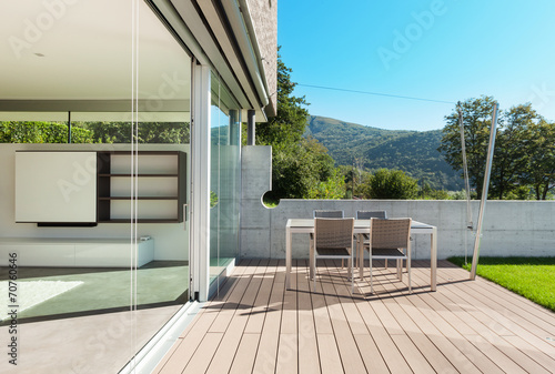 Fotografía Architecture, modern house, outdoor
