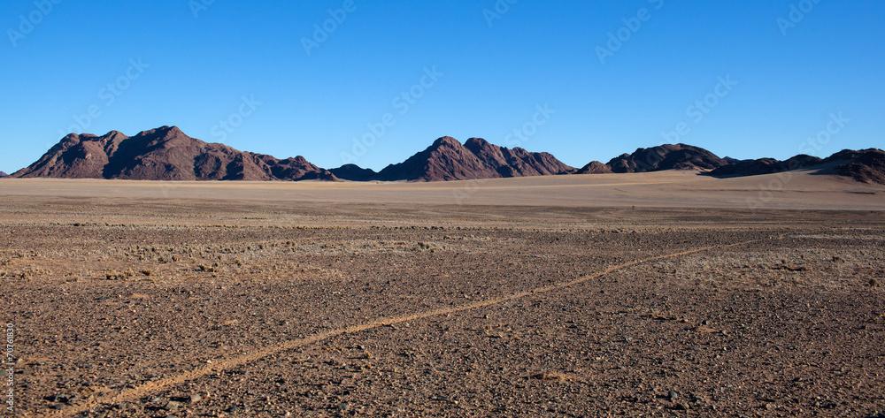 Fototapety, obrazy: Strada nel deserto