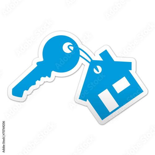 Foto  Aufkleber Hauptschlüssel Symbol