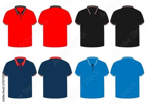 mens polo shirt with rib line design vector buy this stock vector rh stock adobe com polo shirt vector free download polo shirt vector template