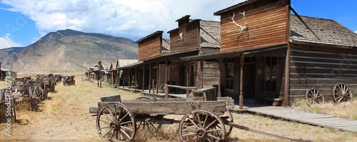 Photo  Cody / Wyoming - Ghost town