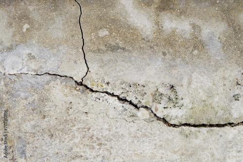 Fotografía  cracked concrete wall texture background