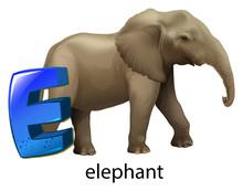 A Letter E For Elephant