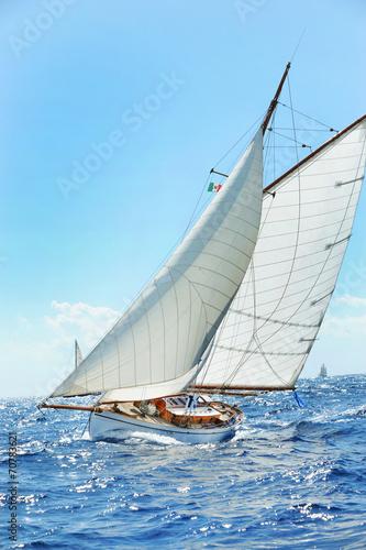 Poster Zeilen Yacht