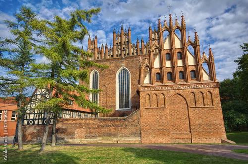 fototapeta na drzwi i meble Kościół Świętej Trójcy, Gdańsk