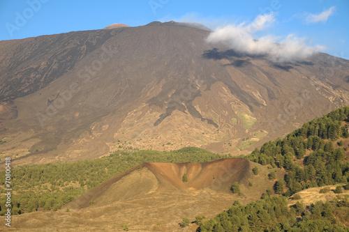 Fényképezés  Cooled Lava Flows On The South-western Side Of Etna National Par