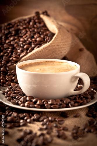 Papiers peints Café en grains kaffe tasse