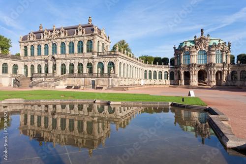 La pose en embrasure Vienne Dresden - Germany - Water reflection