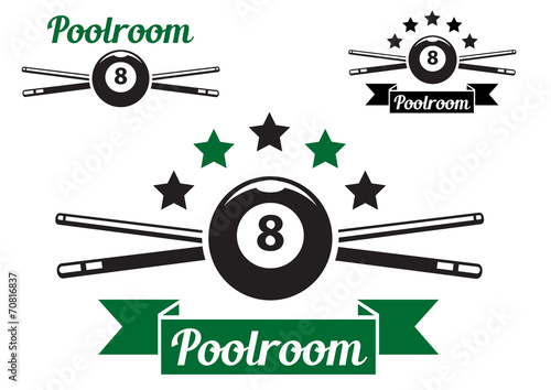 Foto Billiard or snooker design