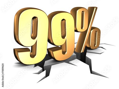 99 percent Poster