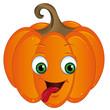 verrükter Halloweenkürbis