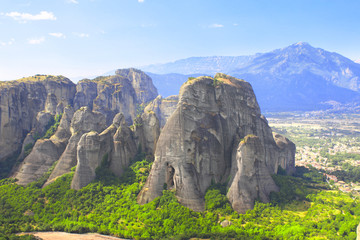 Mountains Meteors, Kalampaka, Greece