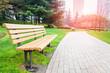 Leinwandbild Motiv city park