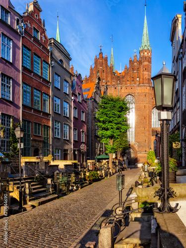 ulica-maryi-z-bazylika-w-gdansku