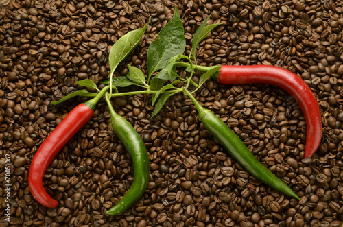 Peperoncino caffè Chili and coffee Chili und kaffee Expo 2015