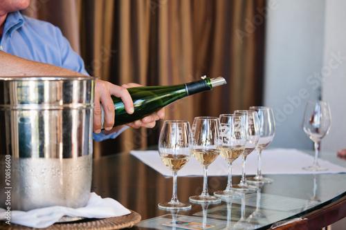 Fotografía  Wine tasting at Napa Valley
