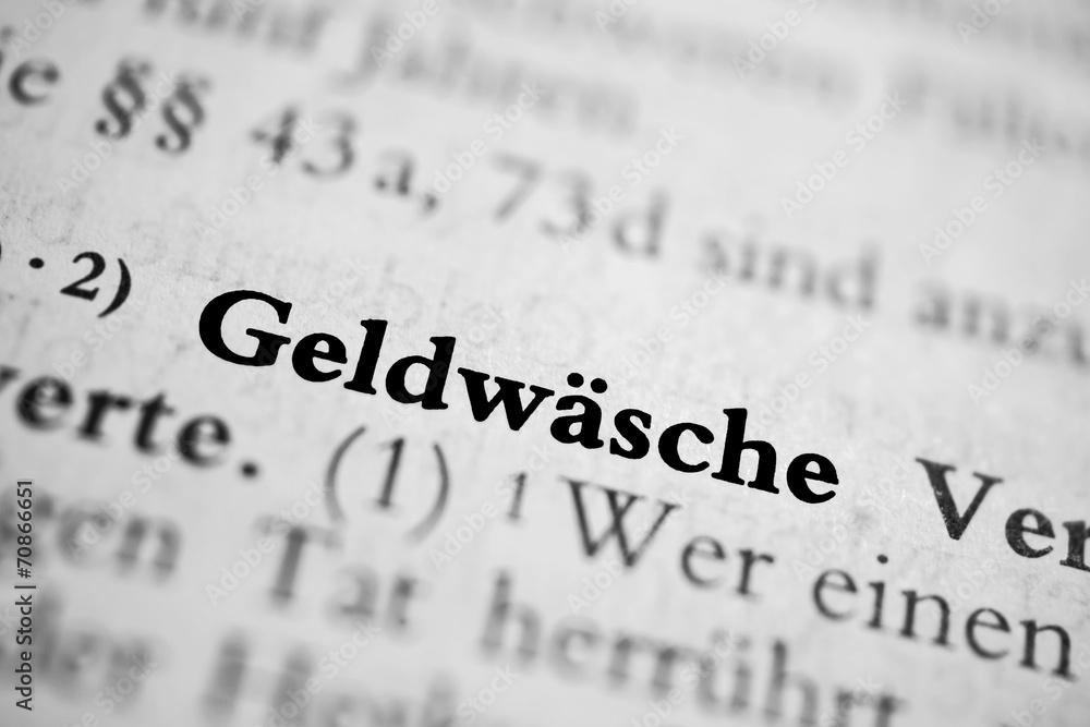 Photo & Art Print Geldwäsche - schwarz-weiß   EuroPosters