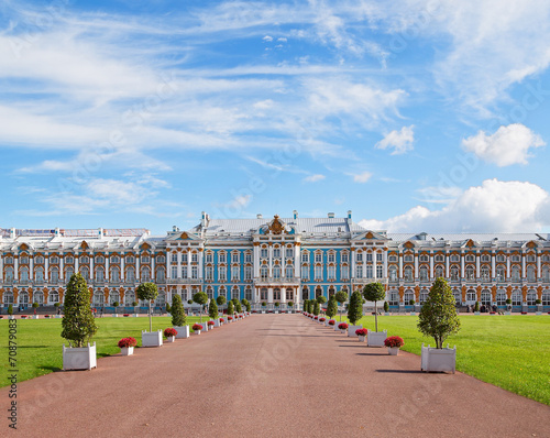 Foto  Catherine palace in Pushkin, Russia