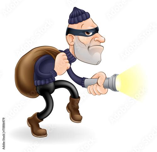 Fotografía  Thief or burglar