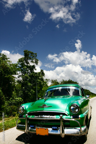 vintage cuban car