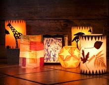Different Handmade Lanterns, S...