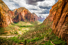 Landscape From Zion National P...