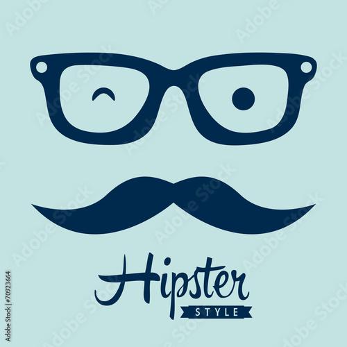 Foto hipster design