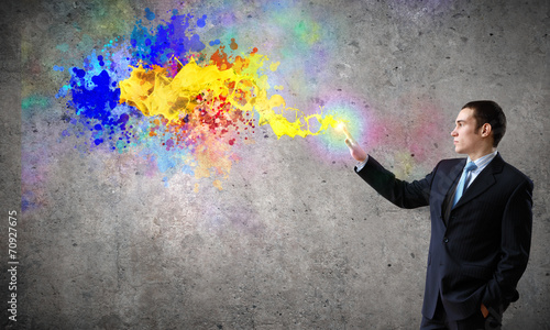 Fototapety, obrazy: Creativity concept
