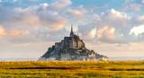 Mont Saint-Michel in morning haze - 70930045