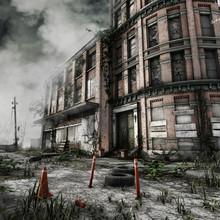 Opuszczony Budynek Miejski Z Z...