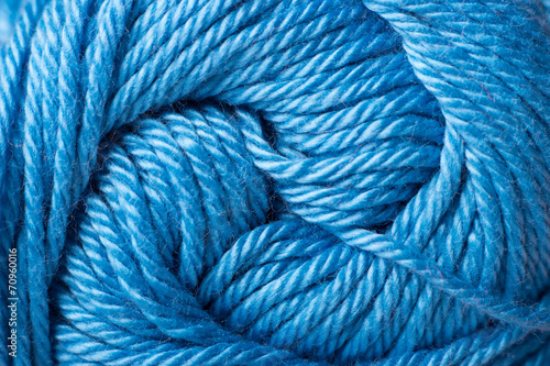 Tuinposter Schip color yarn close up