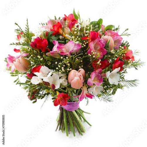 Fotografie, Obraz  Freesia flowers bouquet