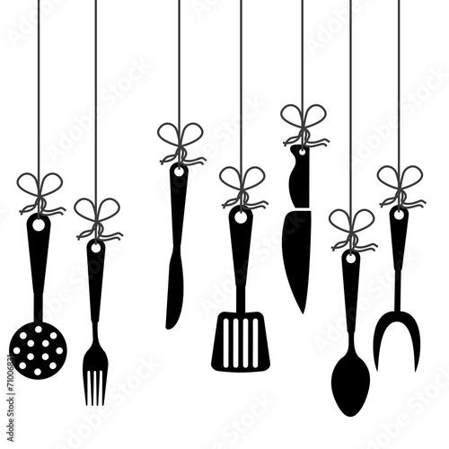 Fototapeta cutlery design obraz