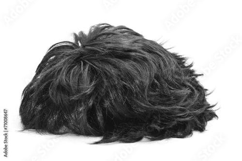 Fotografia black hair wig