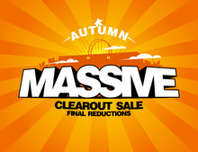 Massive Autumn Sale Design Wit...