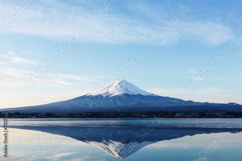 Fotografie, Obraz  逆さ富士
