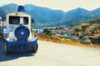 Туристический паровозик в Греции