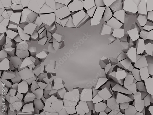 Cracked earth abstract background © Mego-studio
