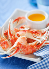 Boiled Crab Claws With Orange ...