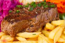 Meat Steak Close Up