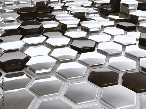 nowozytny-abstrakta-3d-architektonicznego-projekta-heksagonalny-wzor