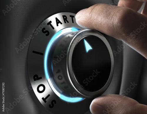 Photo Start Button
