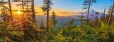 Fototapeta Nature - Beautiful Vista of Mount Hood in Oregon, USA.