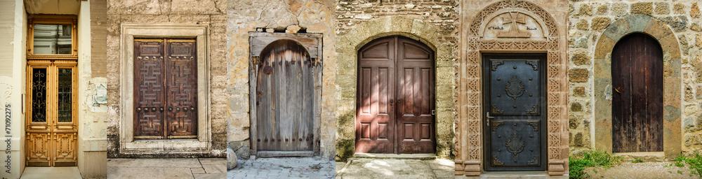 Fototapeta Historical Old Gates