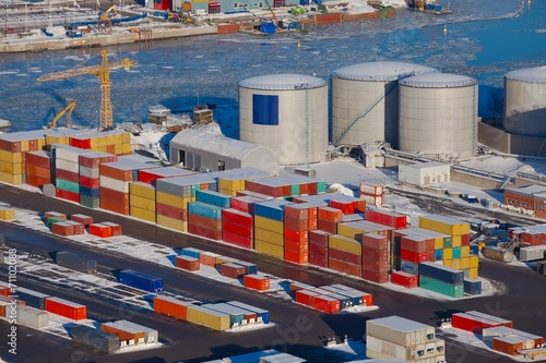 Fototapety, obrazy: Containers