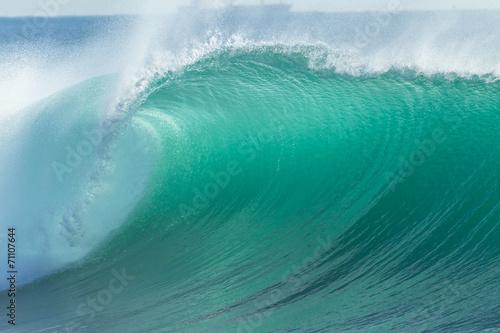 Ocean Wave Blue Detail