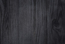 Texture Of Painted Pine Wood With Black Semiglossy Paint